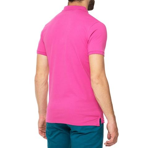 49eb84a3acc Ανδρικό πόλο t-shirt MAGLIA φούξια - BEVERLY HILLS POLO CLUB ...