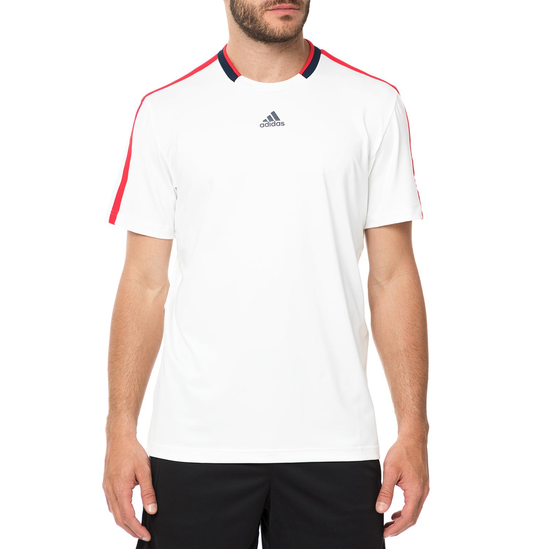 adidas - Ανδρική μπλούζα adidas CLUB TEE λευκή ανδρικά ρούχα αθλητικά t shirt