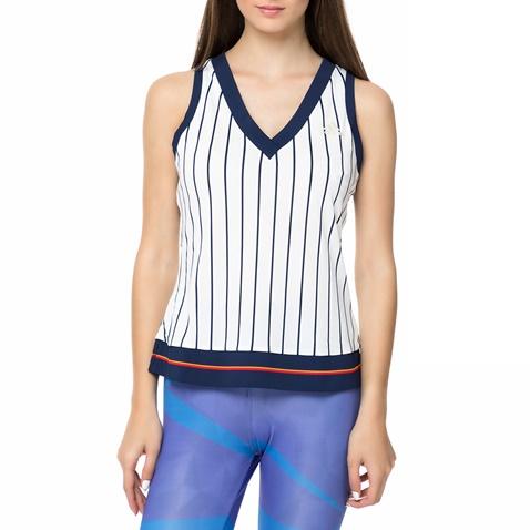 e12b1b733bcc Γυναικεία αθλητική αμάνικη μπλούζα NEW YORK adidas ριγέ (1682419.0-0391)