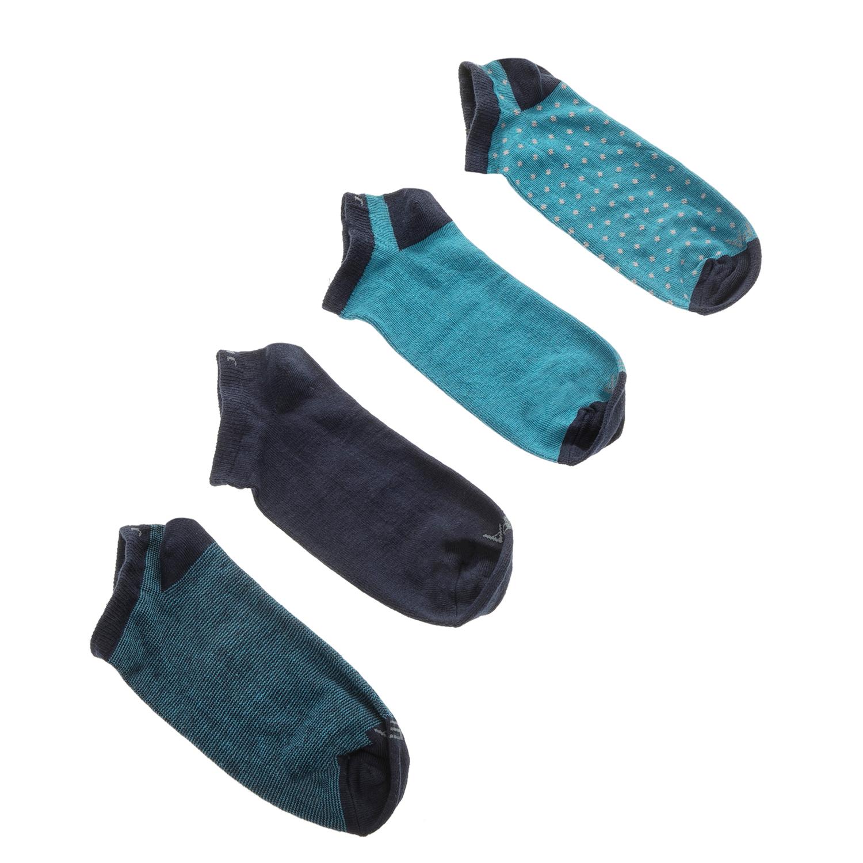 GSA - Σετ ανδρικές κάλτσες JEPA 4 PACK μπλε ανδρικά αξεσουάρ κάλτσες