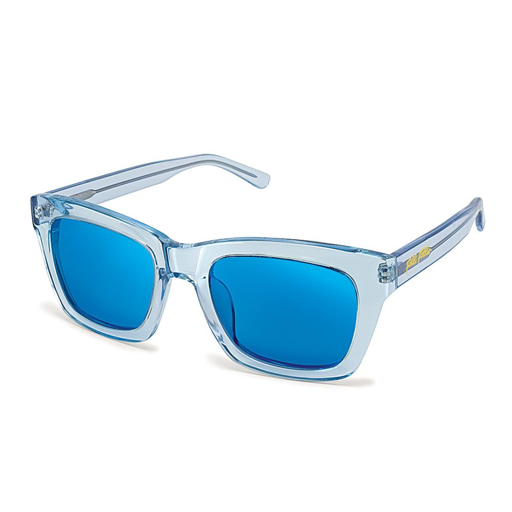 79774396f3 FOLLI FOLLIE – Γυναικεία γυαλιά ηλίου διάφανα FOLLI FOLLIE μπλε