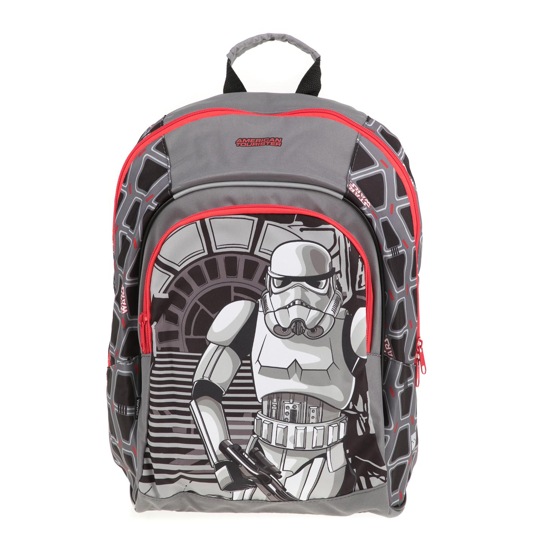 886211a5300 AMERICAN TOURISTER - Παιδική τσάντα πλάτης NEW WONDER Stars Wars AMERICAN  TOURISTER γκρι