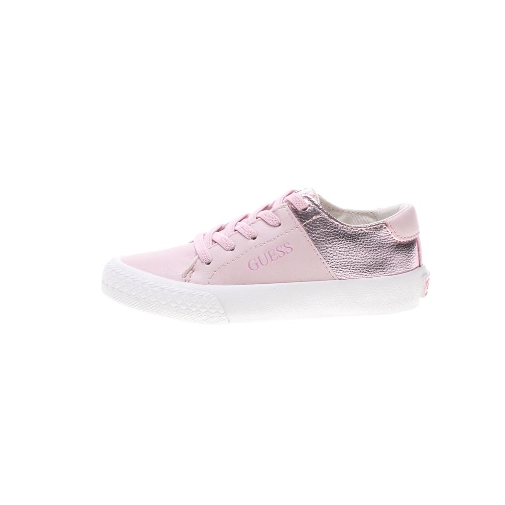 GUESS KIDS – Παιδικά sneakers GUESS KIDS LARA LOW ροζ