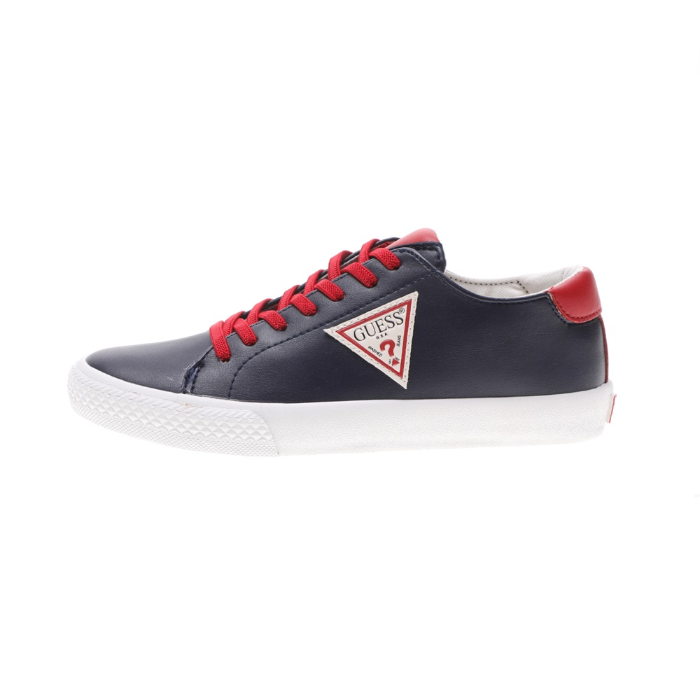 GUESS KIDS – Παιδικά sneakers GUESS KIDS CURT LOW μπλε κόκκινα