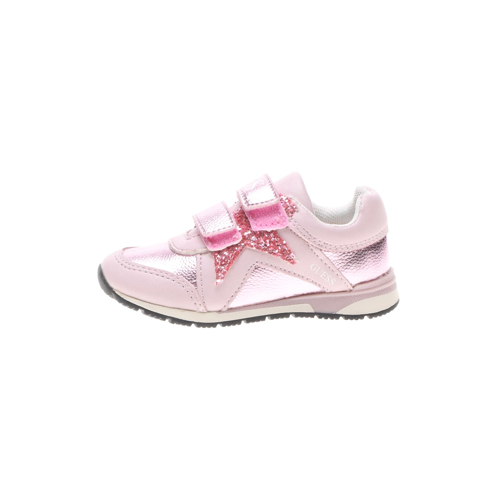 GUESS KIDS – Παιδικά sneakers GUESS KIDS LITZY LOW ροζ