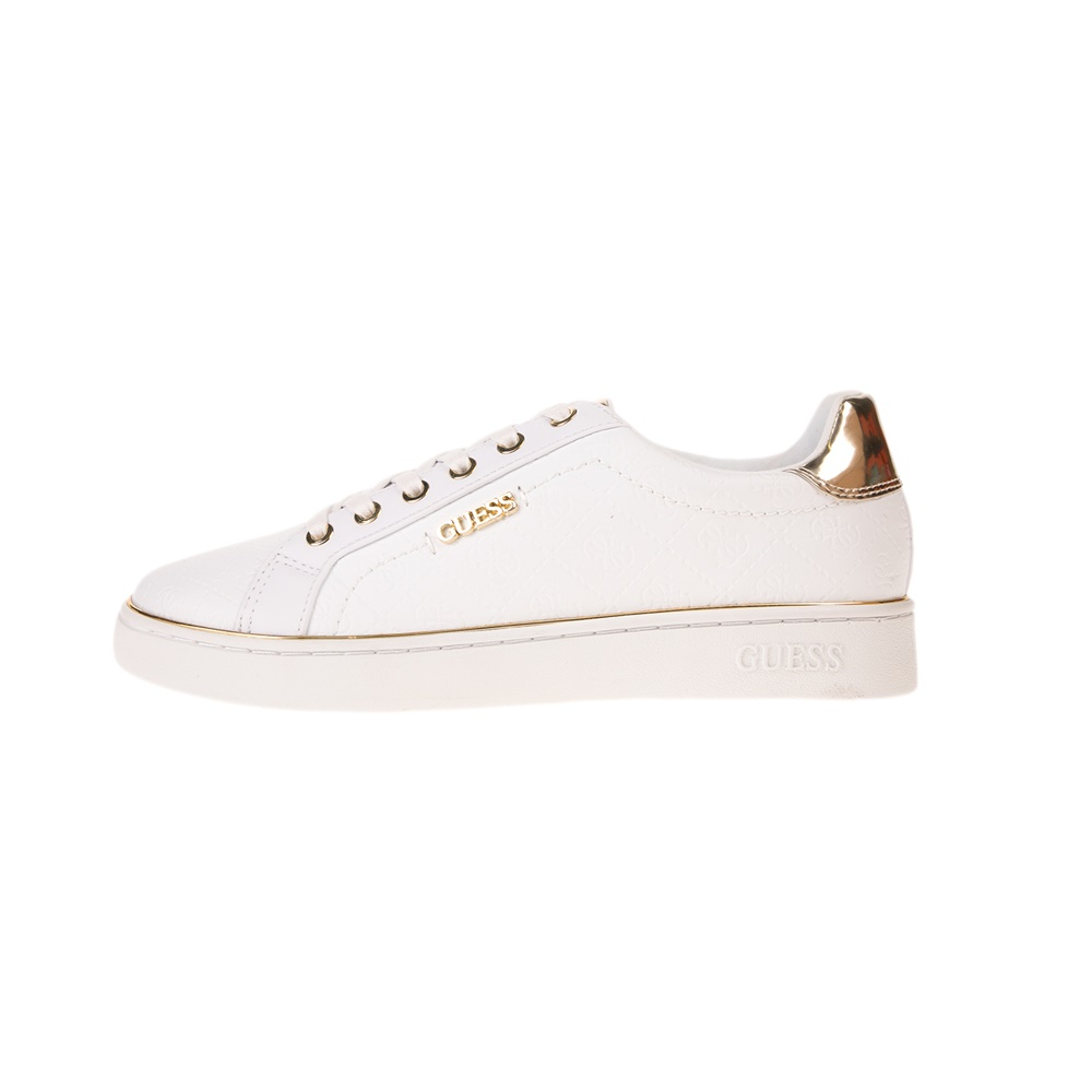 GUESS – Γυναικεία sneakers GUESS BECKIE λευκό
