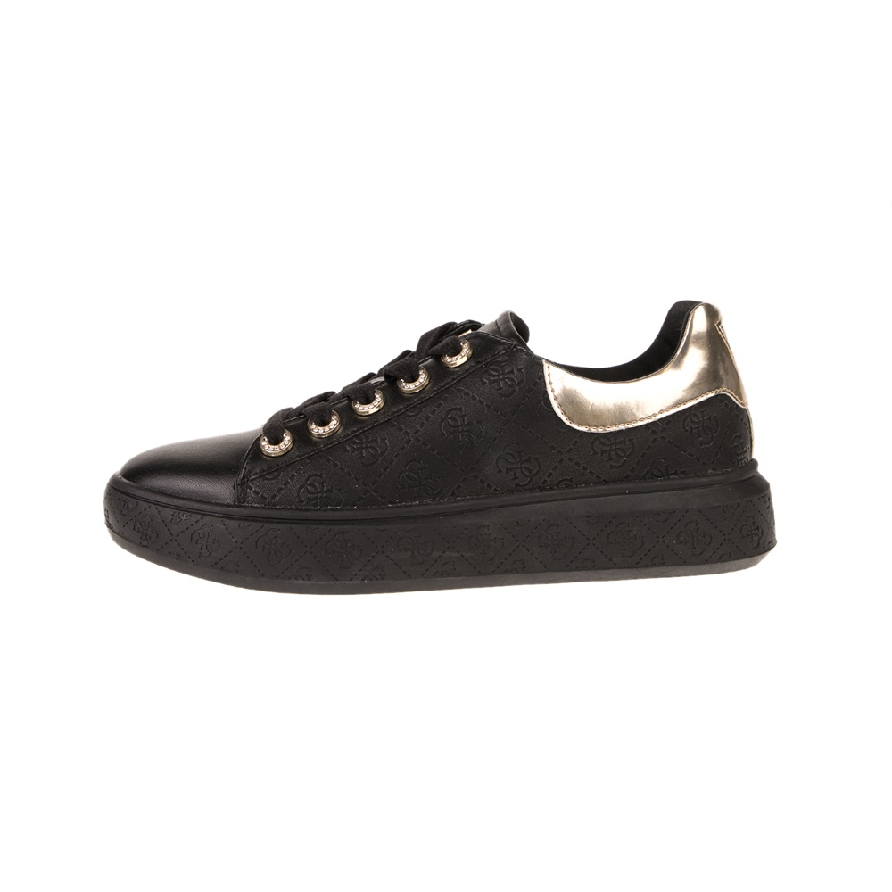 GUESS – Γυναικεία sneakers GUESS BUCKY μαύρα