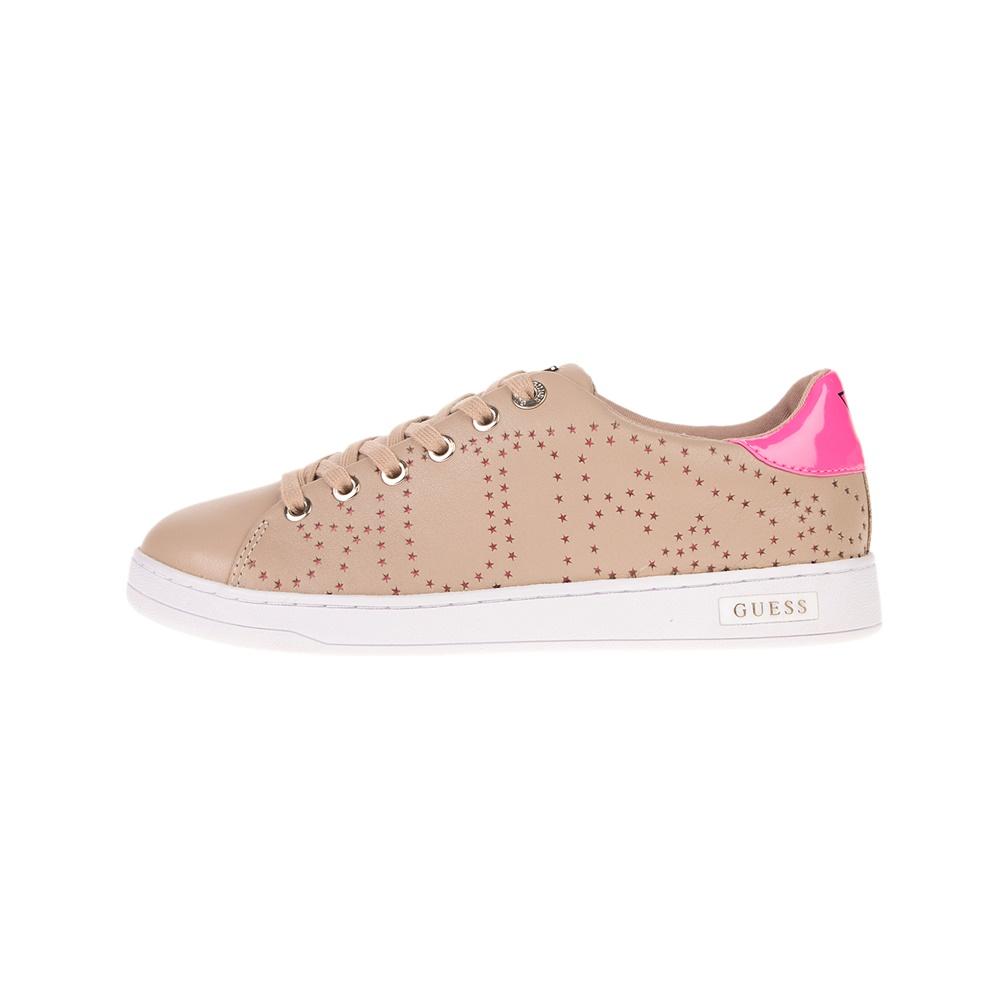 GUESS – Γυναικεία sneakers GUESS CARTERR2 μπεζ
