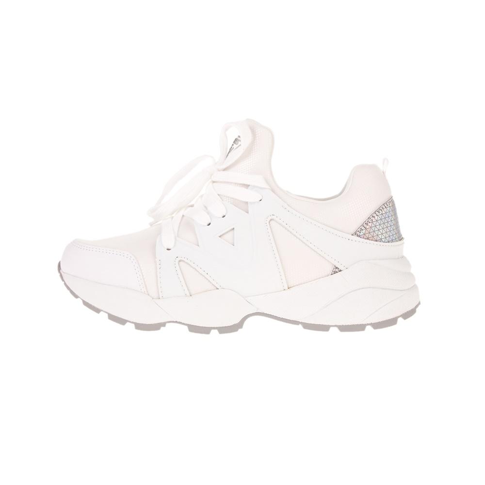 GUESS – Γυναικεία sneakers GUESS SEMEU λευκό
