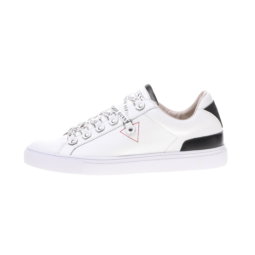 GUESS – Ανδρικά sneakers GUESS BARRY λευκά μπλε