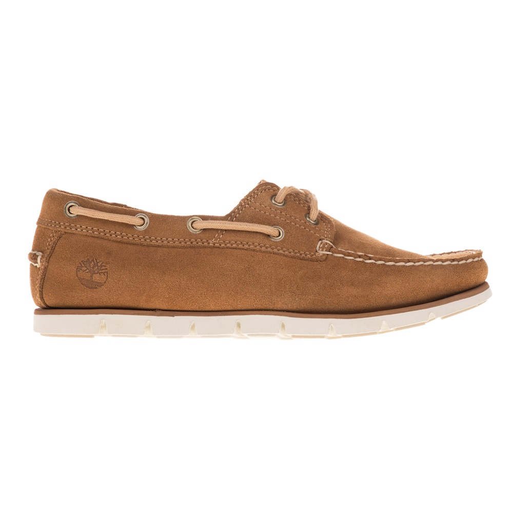 TIMBERLAND – Ανδρικά boat shoes TIMBERLAND 2 EYE BOAT καφέ