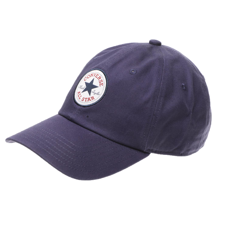 CONVERSE - Unisex καπέλο CONVERSE TIPOFF CHUCK BASEBALL MPU μπλε