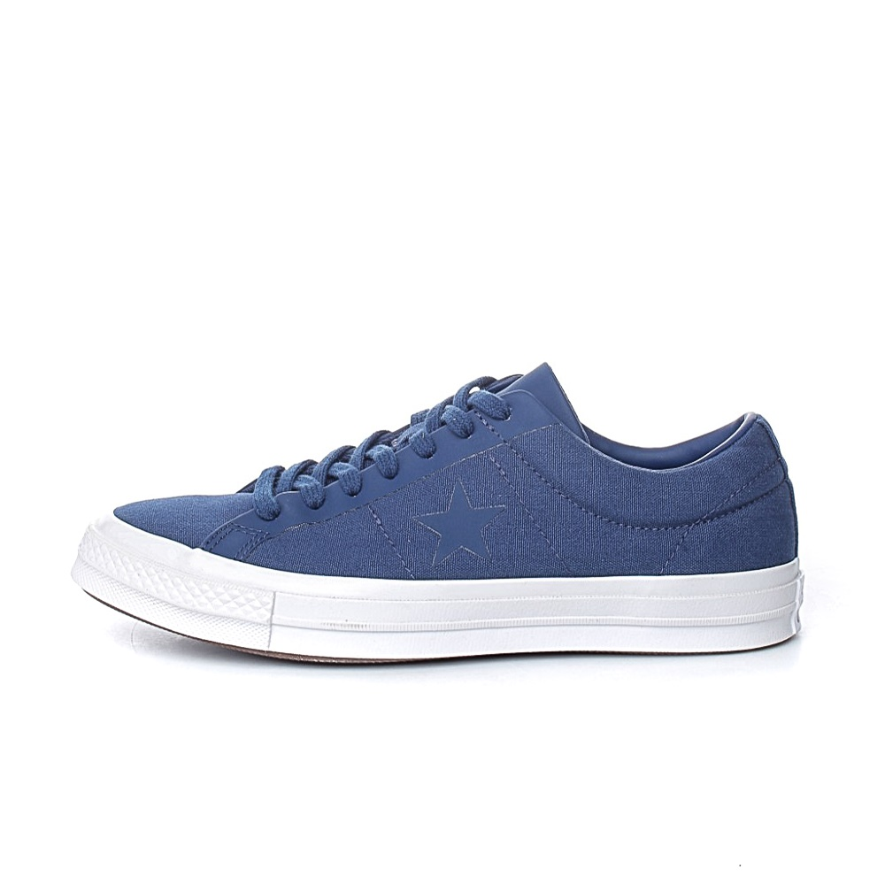 CONVERSE – Unisex sneakers CONVERSE One Star μπλε