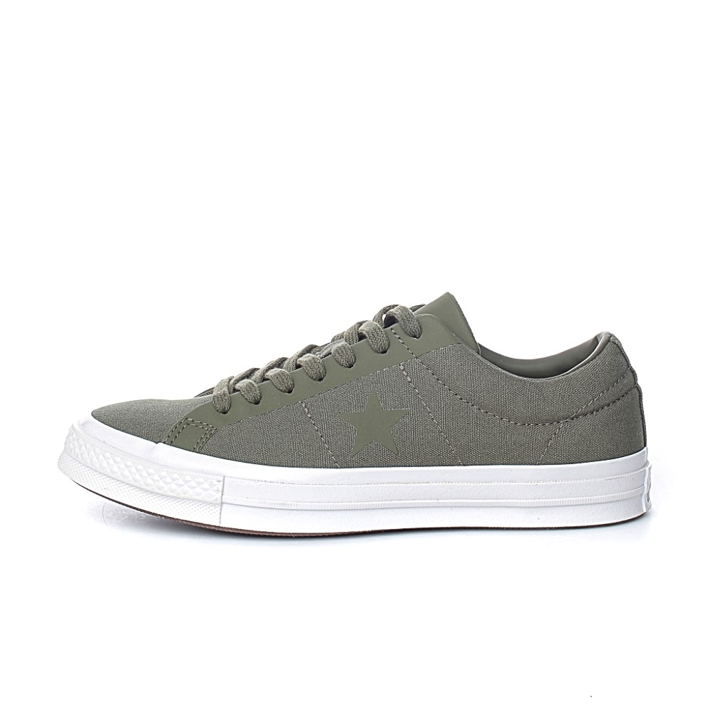 CONVERSE – Unisex sneakers CONVERSE One Star πράσινα