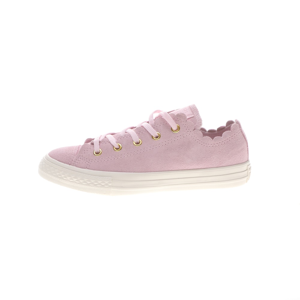 CONVERSE – Παιδικά sneakers CONVERSE Chuck Taylor All Star Ox μωβ