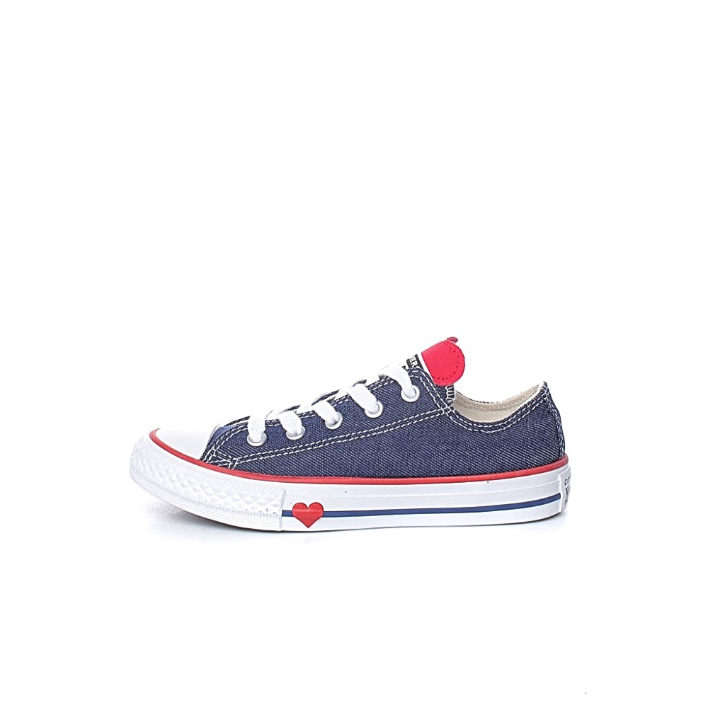 CONVERSE – Παιδικά sneakers CONVERSE Chuck Taylor All Star Ox μπλε
