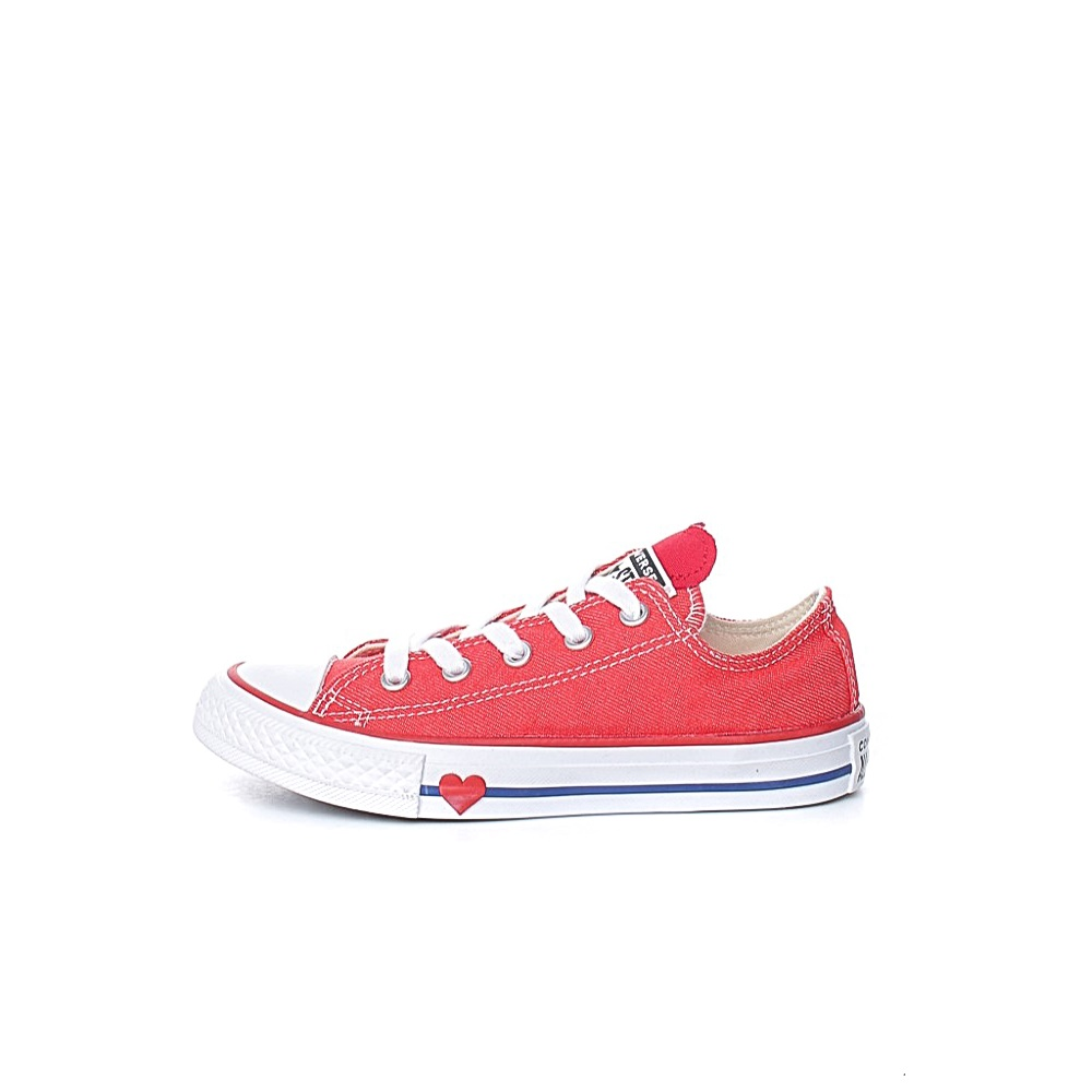 CONVERSE – Παιδικά sneakers CONVERSE Chuck Taylor All Star Ox κόκκινα