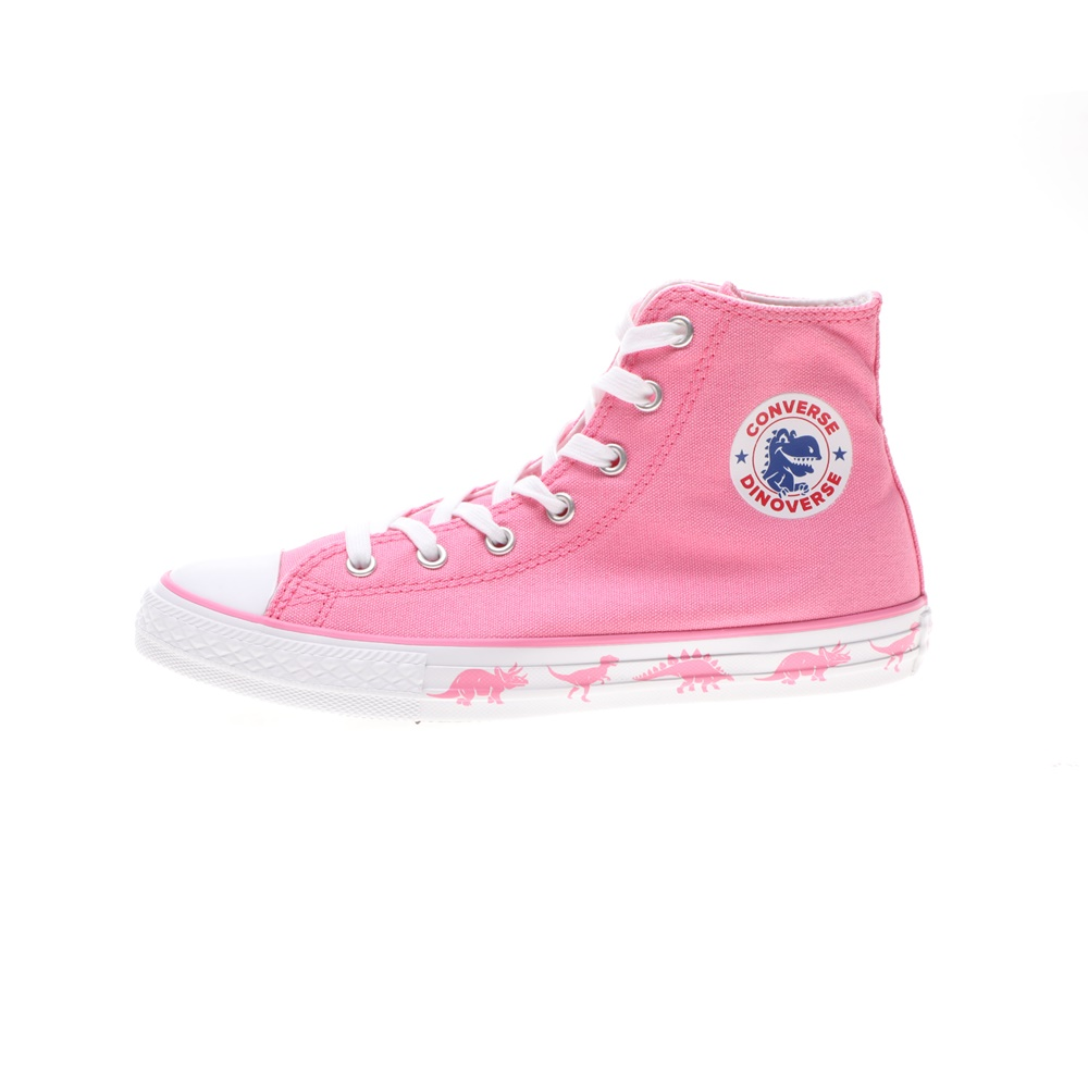 CONVERSE – Παιδικά sneakers CONVERSE Chuck Taylor All Star Hi ροζ