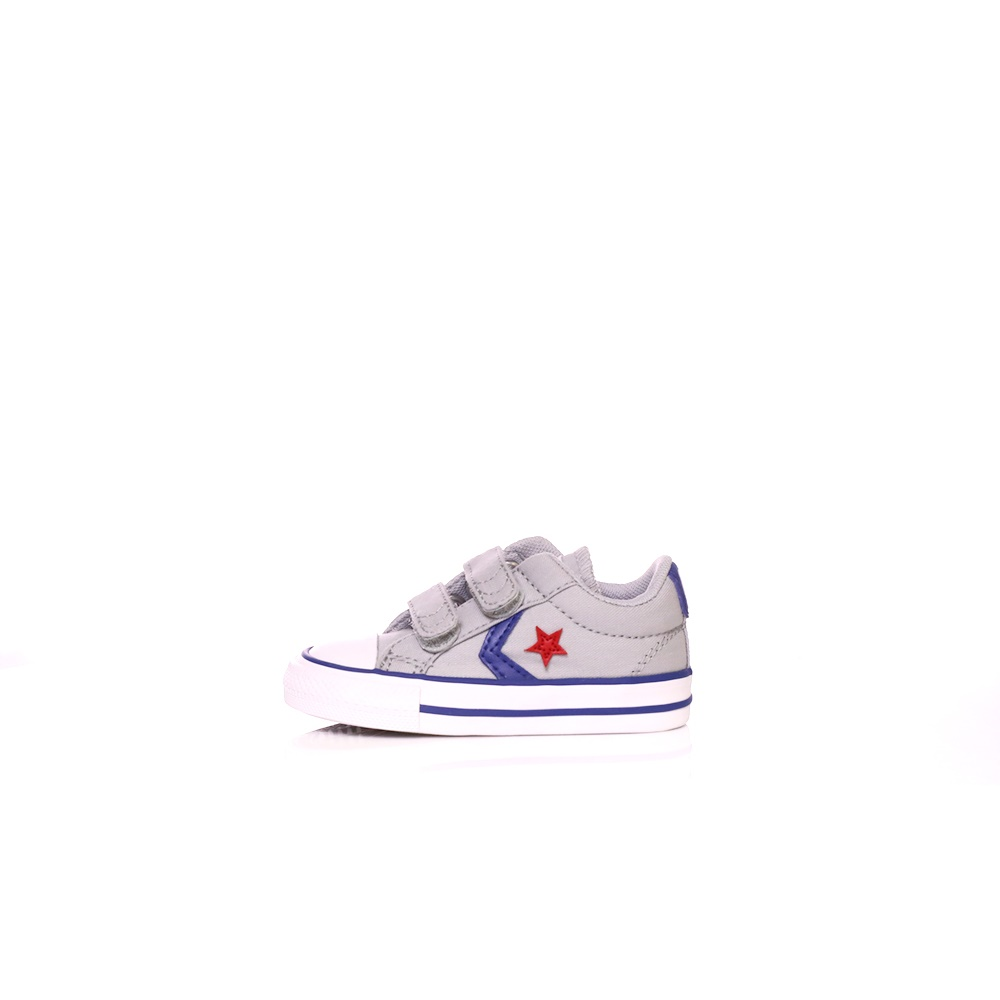 CONVERSE – Βρεφικά sneakers Converse Star Player 2V Ox γκρι
