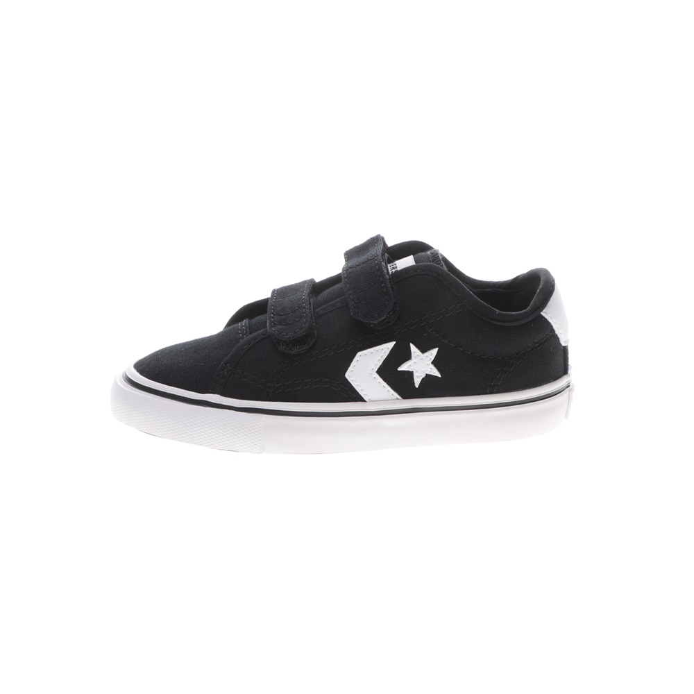 CONVERSE – Βρεφικά sneakers CONVERSE STAR REPLAY 2V μαύρα