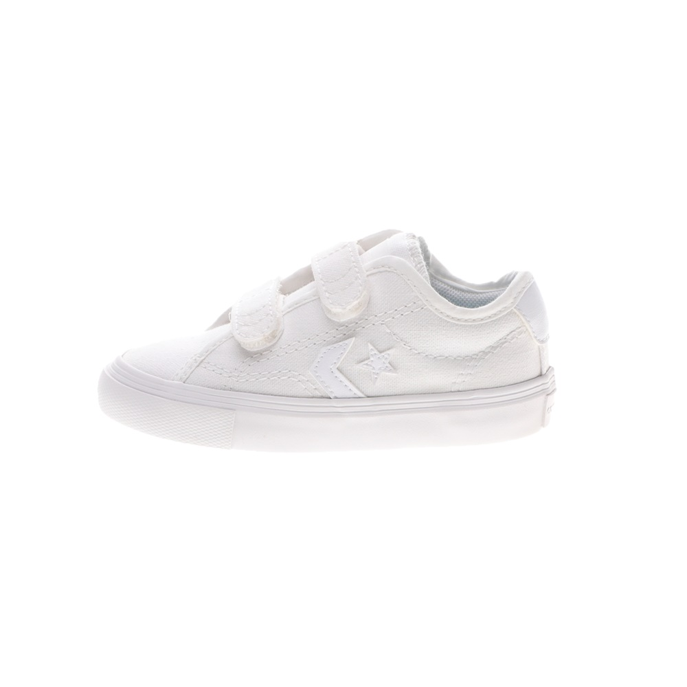 CONVERSE – Βρεφικά sneakers CONVERSE STAR REPLAY 2V λευκά