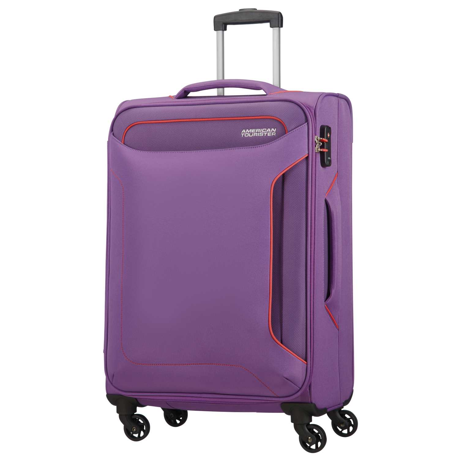 1a0b550a81 AMERICAN TOURISTER – Βαλίτσα μεσαίου μεγέθους HOLIDAY HEAT SPINNER 67 24 μοβ