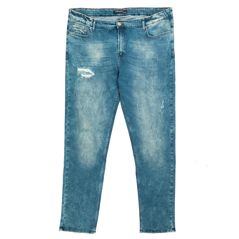 CATAMARAN SAILWEAR - Ανδρικό τζιν παντελόνι CATAMARAN SAILWEAR γαλάζιο 0576543d0f0