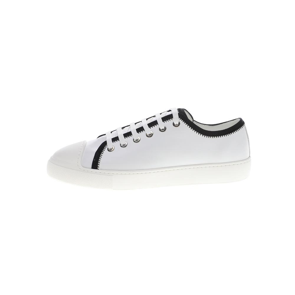 MONCLER – Γυναικεία sneakers MONCLER LINDA ασπρόμαυρα
