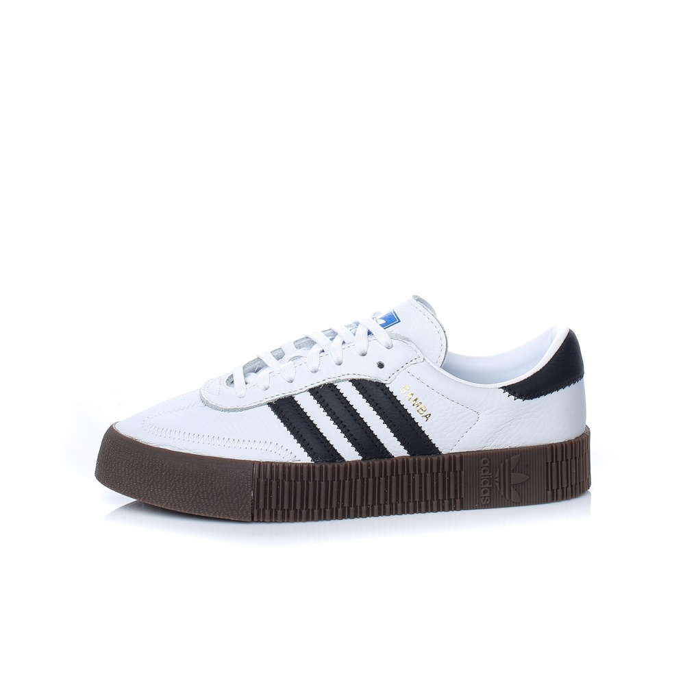 adidas Originals – Γυναικεία παπούτσια Samba Bold λευκά