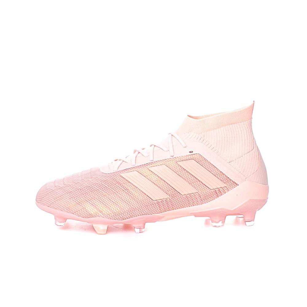 adidas Performance – Ανδρικά παπούτσια για ποδόσφαιρο adidas PREDATOR 18.1 FG σομόν