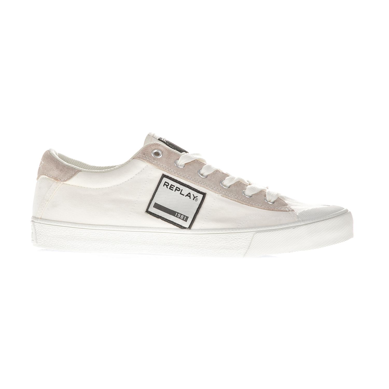 REPLAY – Ανδρικά sneakers REPLAY λευκά
