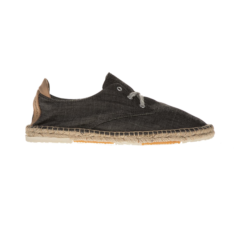 REPLAY – Ανδρικά casual παπούτσια με σχοινί REPLAY ανθρακί