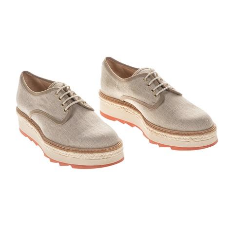 Γυναικεία παπούτσια με κορδόνια MAFALDA CASTANER μπεζ (1689728.0 ... 890d5e61c06