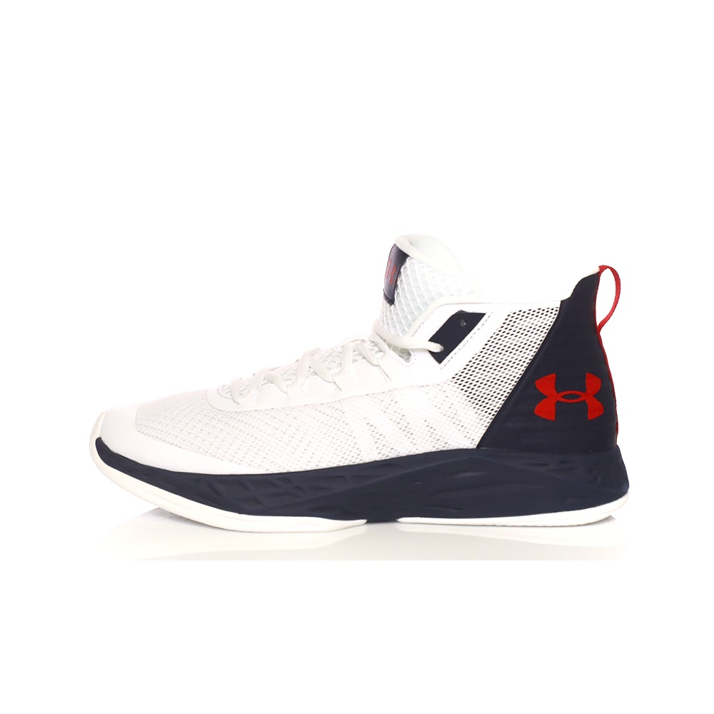 UNDER ARMOUR – Ανδρικά παπούτσια μπάσκετ UA JET MID λευκά