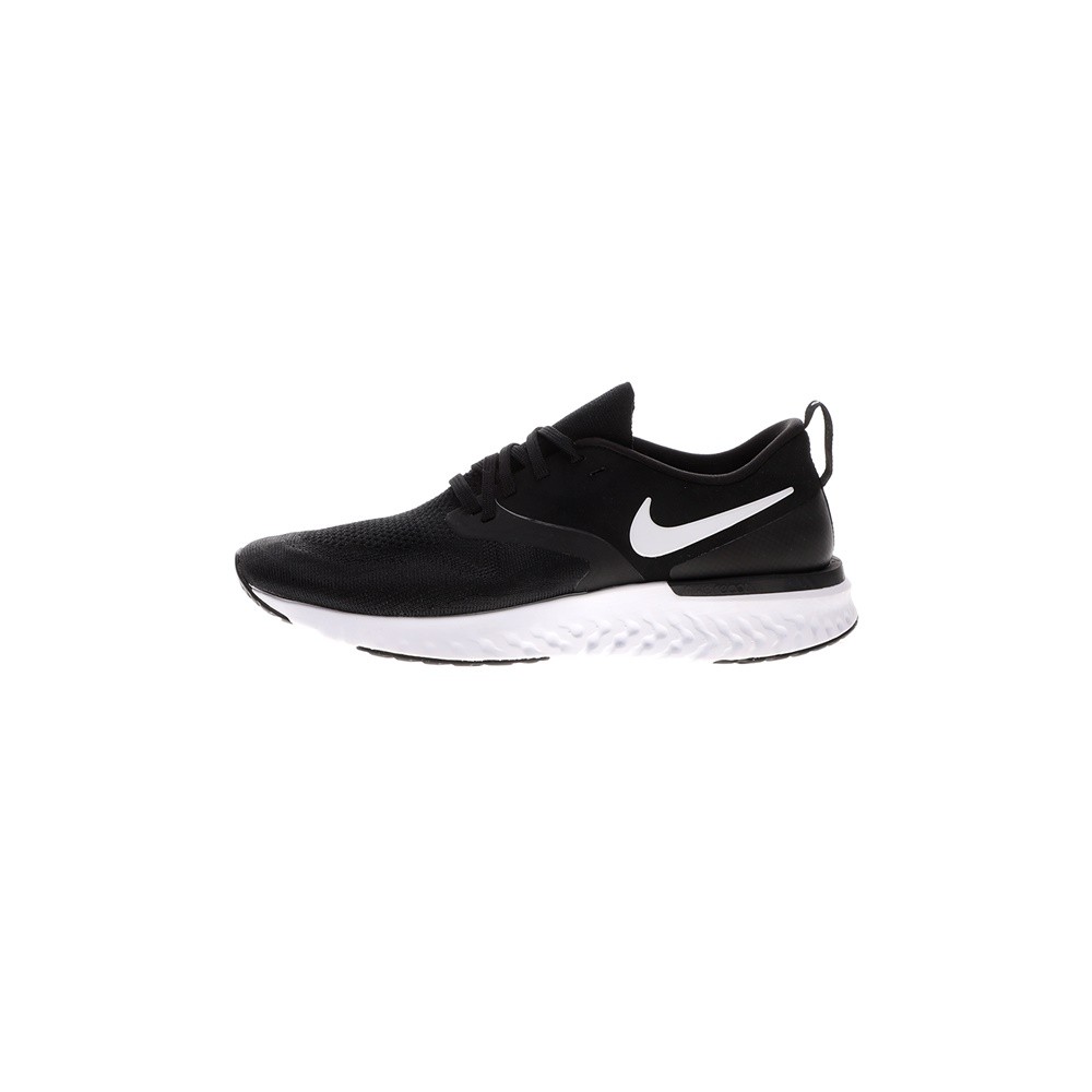 NIKE – Ανδρικά παπούτσια running NIKE ODYSSEY REACT 2 FLYKNIT ασπρόμαυρα