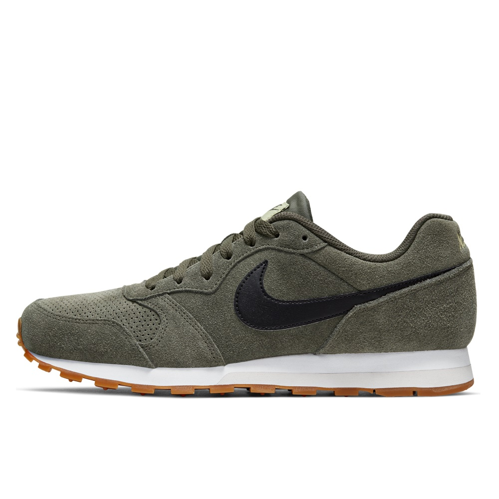 NIKE – Ανδρικά παπούτσια NIKE MD RUNNER 2 SUEDE χακί