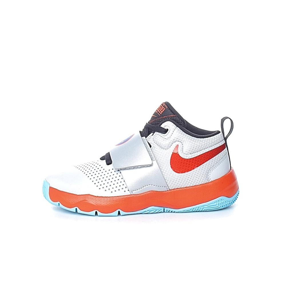 NIKE – Παιδικά παπούτσια μπάσκετ Nike Team Hustle D 8(GS) ασημί
