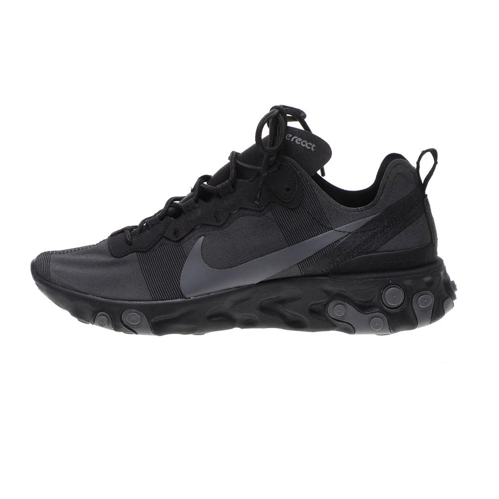 NIKE – Ανδρικά παπούτσια running NIKE REACT ELEMENT 55 μαύρα γκρι