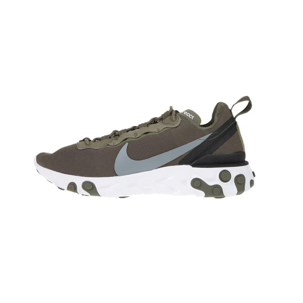 NIKE – Ανδρικά παπούτσια running NIKE REACT ELEMENT 55 λαδί γκρι
