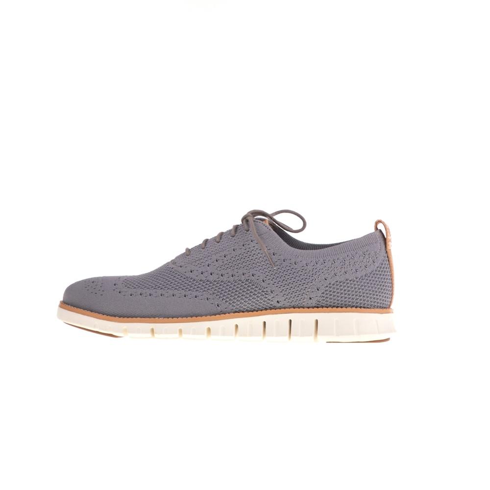 COLE HAAN – Ανδρικά παπούτσια oxford COLE HAAN ZEROGRAND STITCHLITE γκρι