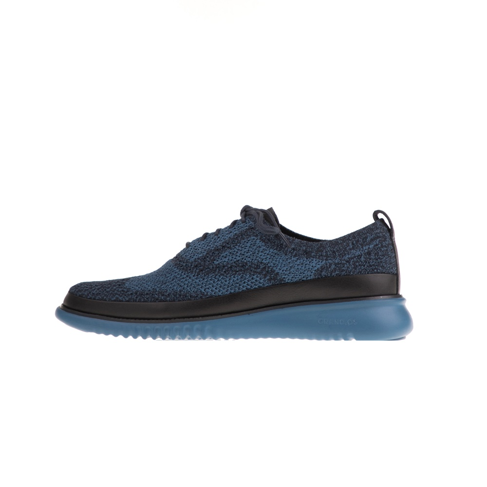 COLE HAAN – Ανδρικά παπούτσια oxford COLE HAAN ZEROGRAND STITCHLITE μπλε