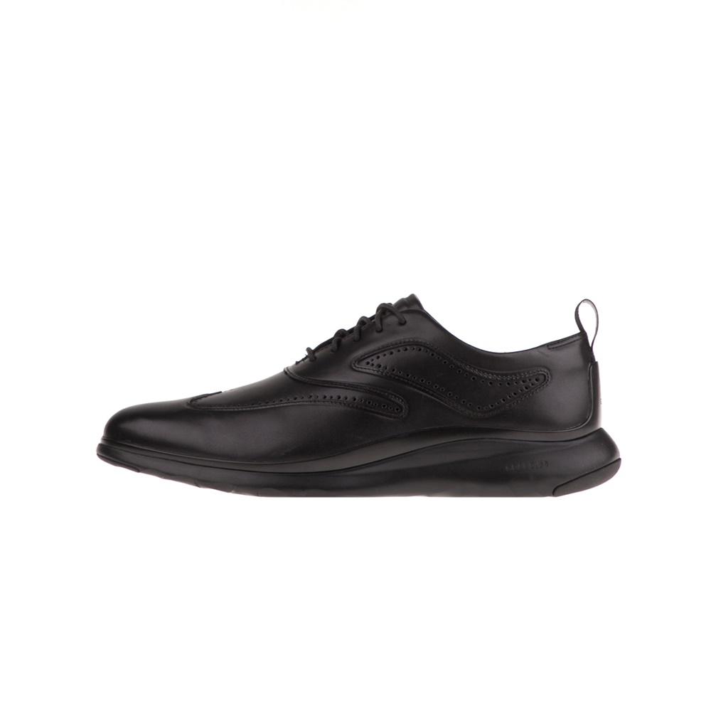 COLE HAAN – Ανδρικά παπούτσια oxford COLE HAAN ZEROGRAND WINGTIP μαύρα