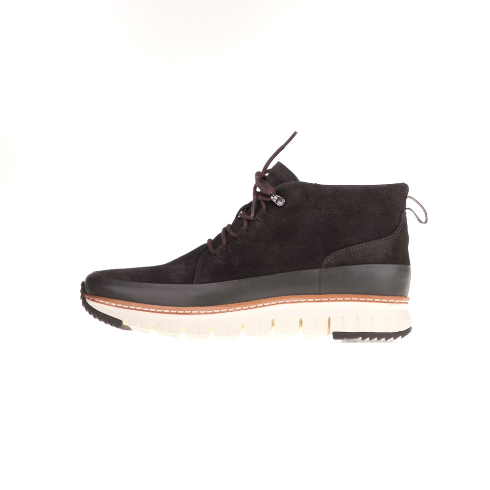 COLE HAAN – Ανδρικά μποτάκια COLE HAAN ZEROGRAND RUGGED ανθρακί