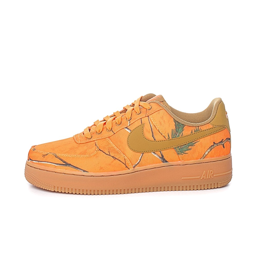 NIKE – Ανδρικά sneakers NIKE AIR FORCE 1 '07 LV8 3 πορτοκαλί-μπεζ