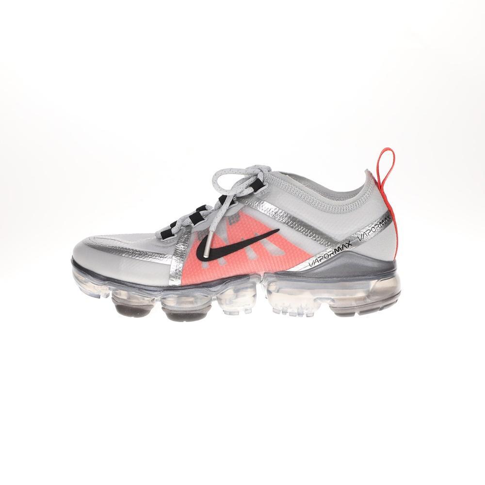 NIKE – Παιδικά παπούτσια running NIKE AIR VAPORMAX 2019 (GS) ασημί κόκκινα