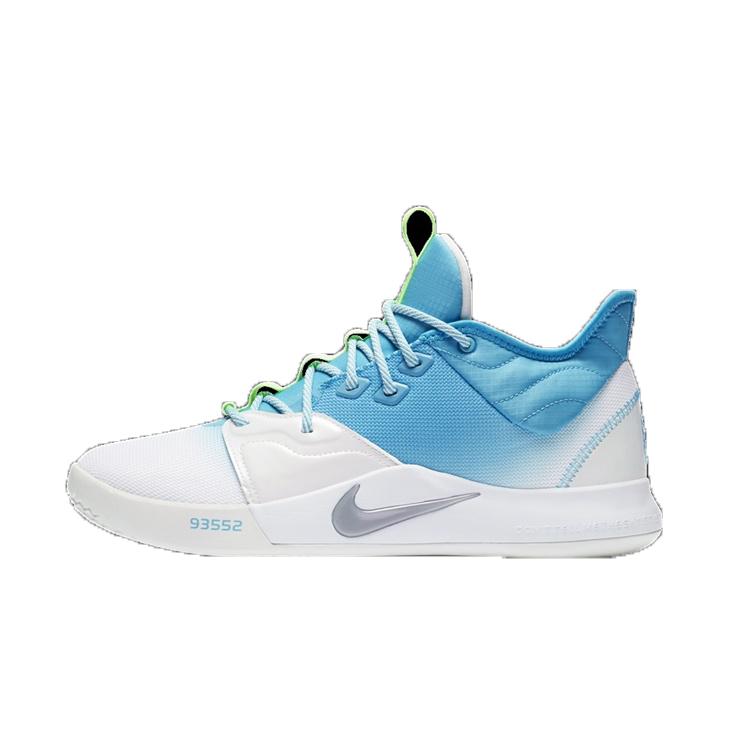 NIKE – Ανδρικά παπούτσοια basketball NIKE PG 3 ΥΠΟΔΗΜΑ μπλε λευκά