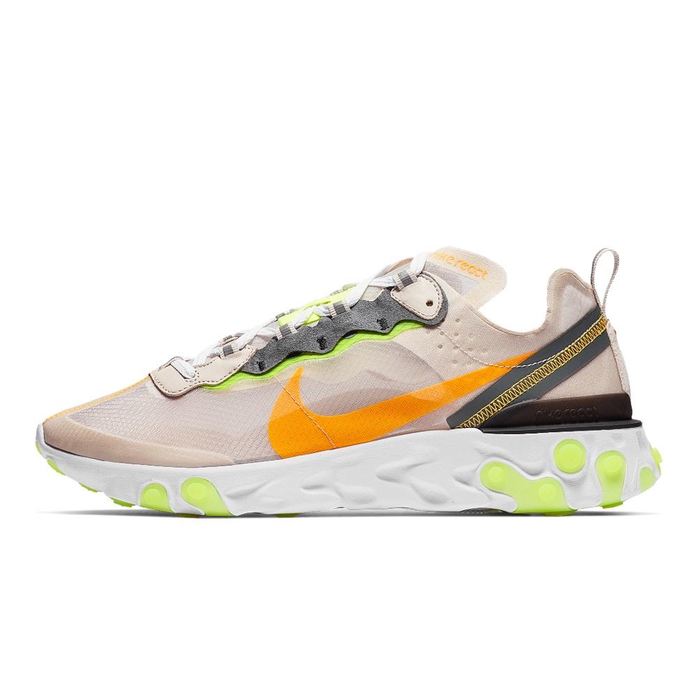 NIKE – Ανδρικά παπούτσια running Nike React Element 87 Men's Sh καφέ πορτοκαλί