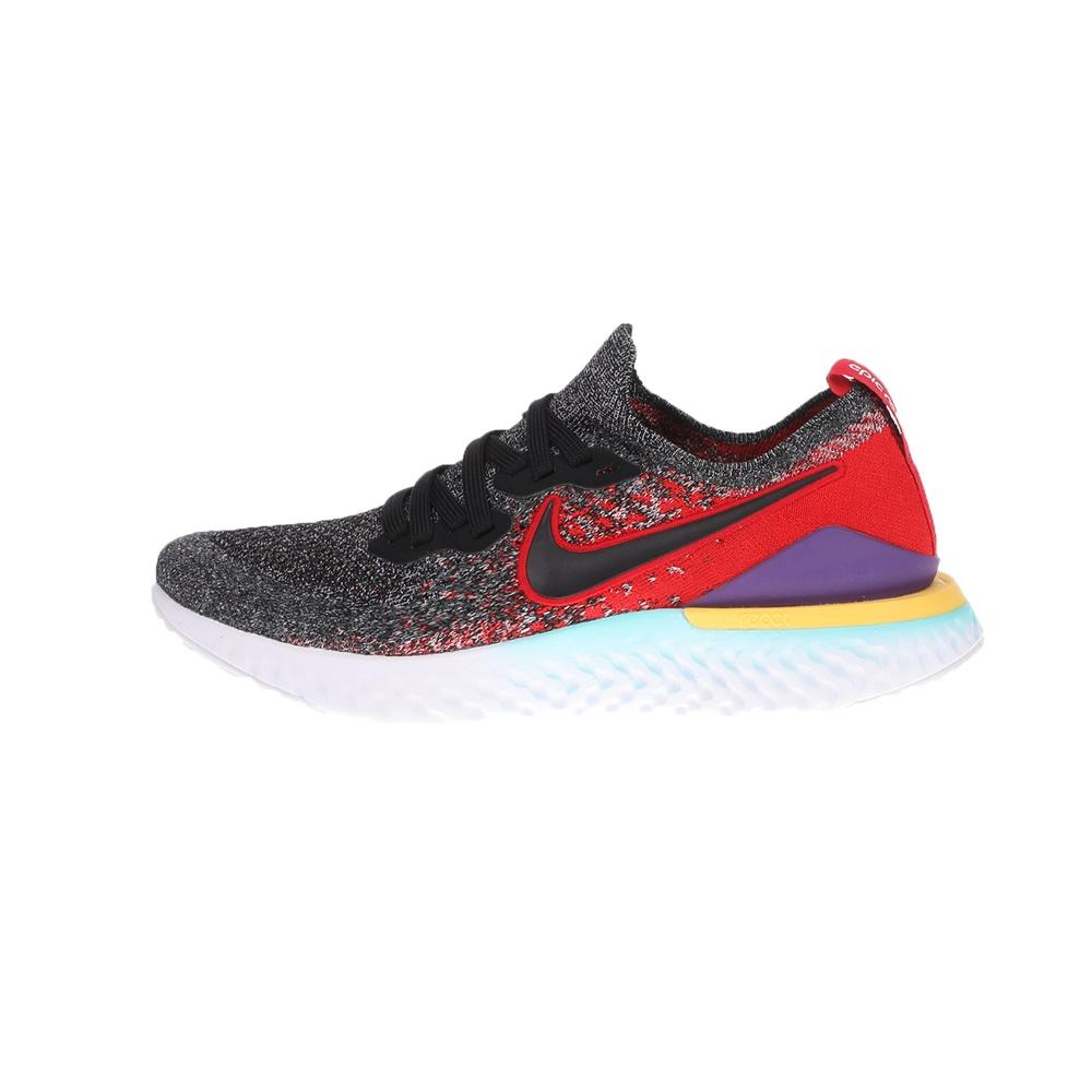 NIKE – Παιδικά αθλητικά παπούτσια NIKE EPIC REACT FLYKNIT 2 (GS) μαύρα κόκκινα