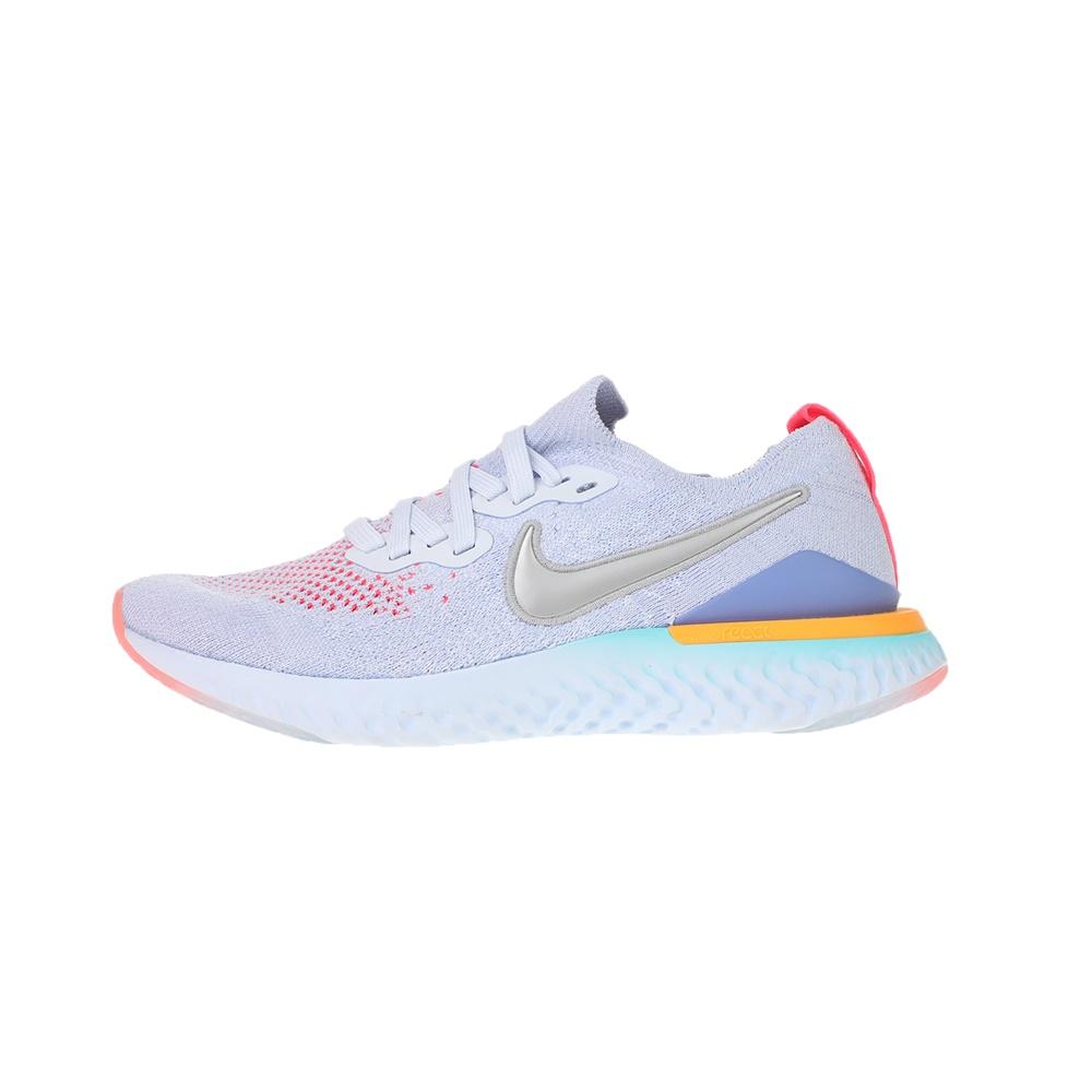NIKE – Παιδικά αθλητικά παπούτσια NIKE EPIC REACT FLYKNIT 2 (GS) ασημί μπλε