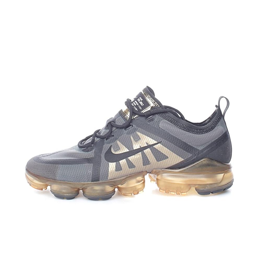 NIKE – Ανδρικά παπούτσια running NIKE AIR VAPORMAX 2019 μαύρα χρυσά